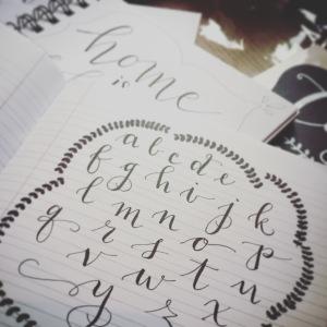 Lettering 2