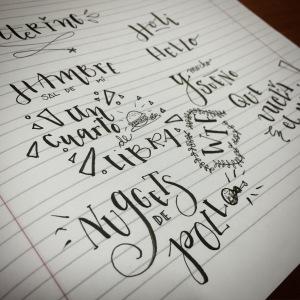 Lettering 4